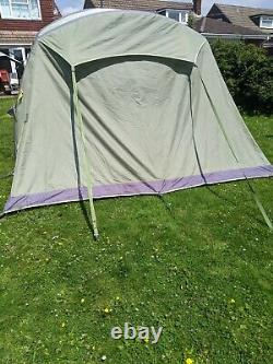 Vango 400 Tent, 4 Person. Large. Epsom Green. Airbeam. Air beam. Inflatable