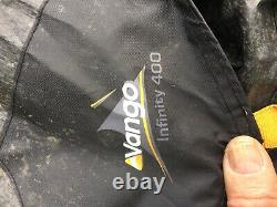 Vango Air Beam Exodus 600 Family Tent and Accessories, 4-6 Man Inflatable Carpet
