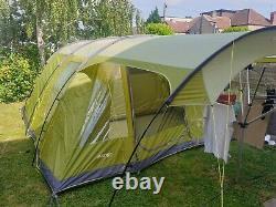 Vango Calder 600 6 birth green poled tent with canopy