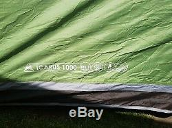 Vango Icarus 1000 10 Man Tent with large universal porch