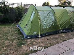 Vango Icarus Deluxe 500 Tent with Awning. Used in Very Good Condition (Green)