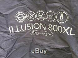 Vango Illusion 800 XL 2017 Model Large 8+ Berth Family Tent. Collect CO3