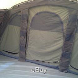 Vango Illusion TC 800XL large polycotton inflatable family tent