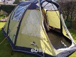 Vango Infinity 400 Airbeam tent used twice, camping stove, porta loo etc