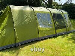 Vango Orava 600XL 6 Person Superb FamilyTent with 3 Bedrooms / Large Porch area
