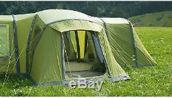 Vango Palermo 800 AirBeam Tent with Large Vango Hogan Hub & Accessories