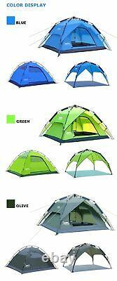 Waterproof Outdoor Tent Camping Canopy Shelter Automatic Opening Breathable New