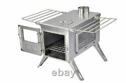 Winnerwell Nomad View Wood Burning Camping Stove Size L