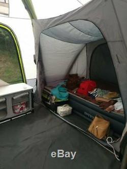 Zempire Aerodome ll with extension, footprint & Carpet (Air Beam)