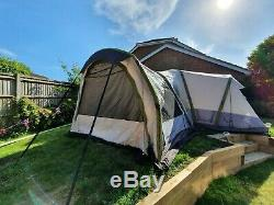 Zempire Aerodome ll with extension, footprint & Carpet (Inflatable Air Beam)