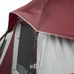 10 Personne 3 Chambre Tente De Cabine Instantanée Grand Abri De Camping En Plein Air Retraite 20x10