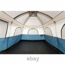 10 Personne Grande Instant Pop Up Dome Family Camping Tent Waterproof Double Layer