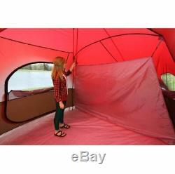 10 Personne Tente De Camping En Plein Air Ozark Trail Grande 3 Chambre Étanche Nouveau