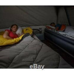 10 Personnes Tente De Cabine Instant Foncé Rest Blackout De Windows Camping En Plein Air Nouveau