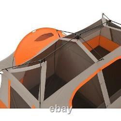 11 Personne 3 Chambre Instant Cabin Tente Ozark Trail Outdoor Camping & Private Room