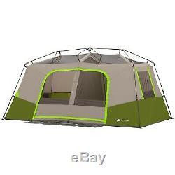 11 Personnes Tente De Cabine Camping Instantané Randonnée En Plein Air Privée Chambre Ozark Trail