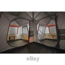 12 Personne 16x16 Instantanée Chalet Tente 3 Chambre Camping En Plein Air De Pique-nique Abri Canopy