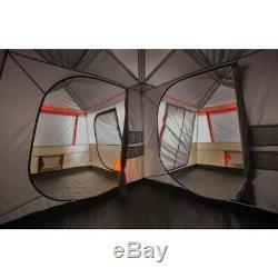 12 Personne Tente Camping 3 Chambre Instantané Chalet Abri Extérieur Grande Tente Famille