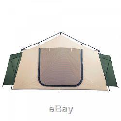 14 Personne Spring Lodge Chalet Tente Camping Avec Rangement Poches Camping En Plein Air