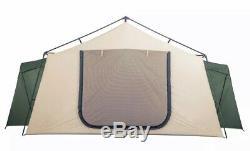 14 Personne Tente De Camping Ozark Trail 2 Pièces Cabine Extérieure Grand Family Lodge Nouveau
