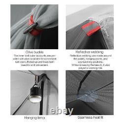 1person 3f Ul Gear Outdoor Ultralight Randonnée Camping Tente 3 Saison Tente Royaume-uni
