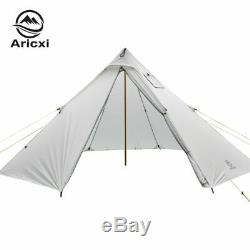 3-4 Personnes Ultraléger Extérieur Camping Tipi 20d Silnylon Pyramide Tente Grande