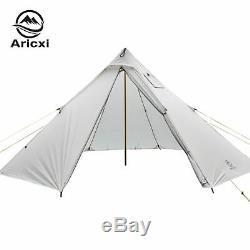 3-4 Personnes Ultraléger Extérieur Camping Tipi 20d Silnylon Pyramide Tente Grande Nouvelle