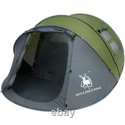 34 Personnes Imperméable Camping Tente Automatique Pop Up Shelter Quick Outdoor Hiking