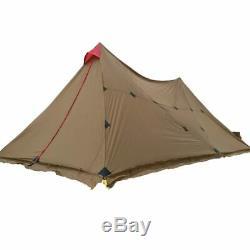 3f Ul Gear Tente De Camping En Plein Air Pour 8-12 Personnes, Grande Bâche De Protection Pare-soleil 74m, Tour