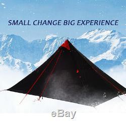 3f Ul Vitesse 1 Personne Homme Extérieur Ultraléger Camping Tente 3 Saison Royaume-uni Backpacking