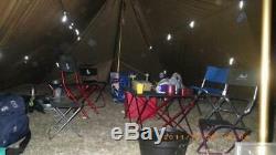 3f Ul Vitesses 8-12 Personne Extérieure Tente De Camping Grand Tarp Sun Shelter 74m A Tour