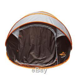 5-8 Hommes Grande Simple Couche Automatique Pop-up Tente De Camping Abri Fête De Famille