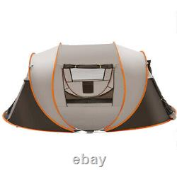 5-8 Personne Ultralight Grande Tente Automatique Windproof Pop Up