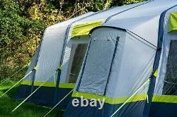 5 Berth Inflatable Air Tent Famille 6.5m X 3.2m 5 Chambre À Coucher Homme Intérieur Olpro Accueil