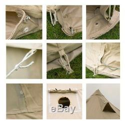 5m De Bell Tente Pro Spec 320gsm Zippées Tapis De Sol, Uv, Eau, Antimoisissure