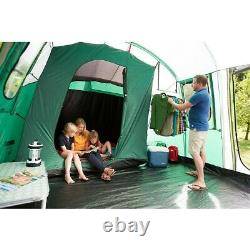 6 Personne 4 Chambre Camping Tente Familiale Avec Blackout Extra Large Bedrooms Mackenzie