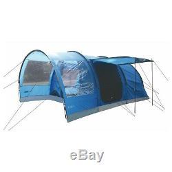 6 Personne Grande Famille Tunnel Tente Highlander Chêne 6 Camping Tente Imperial Bleu