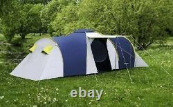 8 Personne Grande Famille Moderne Imperméable À L'eau (3500mm) Tente