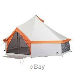 8 Personne Yourte Extérieur Camping Tente Famille Entière Imperméable Grande Grande Grande Taille