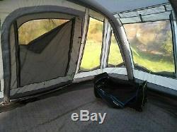 A Peine Utilisé Outwell Montana 6sa Tente Air Avec Tapis Et Empreinte