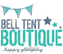 Auvent Tente Large En Toile Bell 400 X 240 1 Pole By Bell Tent Boutique -not Tent