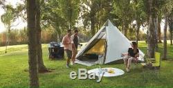 B Nouveau Grand Camping En Plein Air 6-8 Personne Famille Tipi Tipi Tente Etanche