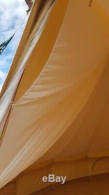 Bell Tente Tentures Swags Doublure Tissu Nouveau Pré Shrunk Peut Être Dyed. 5m De Bell Tente