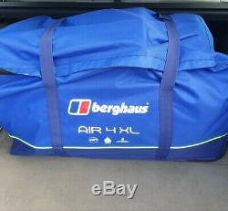 Berghaus Air 4 Tente Familiale XL Gonflable