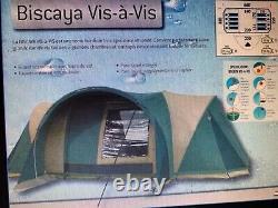 Cabanon Biscaya Face À Une Tente État Fantastique