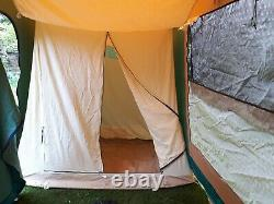 Cabanon Pacific Toile Tente, Aluminium Cadre 2 / 4 Couchette Homme
