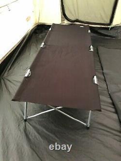 Cabine Coleman Mackenzie 6xl + Grande Extension Et 2 Lits De Camp