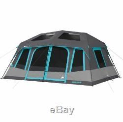 Camp De Tente De Camping De Grande Taille Cabine De Stockage Pour Fenêtre Avec Cabine De 10 Personnes
