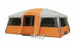 Camp Valley 12 Personne Personnes Droite Cabine Murale Tente Camping Grande Famille Nouveau