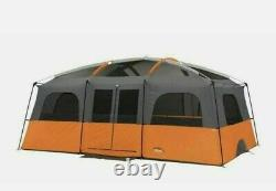 Camp Valley Core 12 Homme Personne Droite Cabine Murale Tente Camping Grande Famille